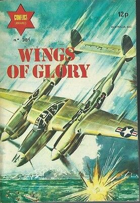 Wings Of Glory,conflict Libraries,no.381,war Comic