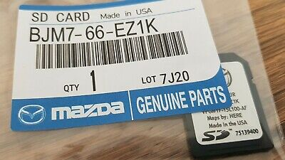 Latest 2018 MAZDA MZD Connect SAT NAV SD Card NAVIGATION MAPS 2 3 6 CX-3 CX3 MX5