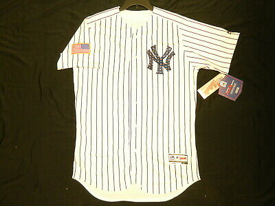 87aeded9d1b Authentic New York Yankees 2018 Stars   Stripes July 4th FLEX BASE Jersey 40