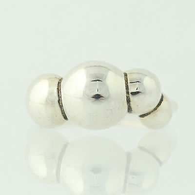 New Authentic Pandora Ring Quad Bubbles 190703 Sterling Retired ALE 53 6.25