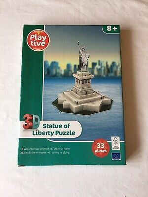 New York Skyline #00142 Revell 3d Puzzle Puzzles & Geduldspiele