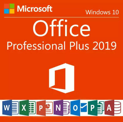 Microsoft MS Office 2019 Professional Plus Download Link & 1 PC License