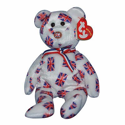 69a55499df1 TY BEANIE BABY Hamley - MWMT (Bear UK Country Store Exclusive 2006 ...