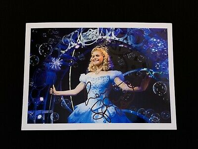 Sophie Evans SIGNED 5x7 Photo. WICKED Wizard Of Oz Broadway Musical Autograph
