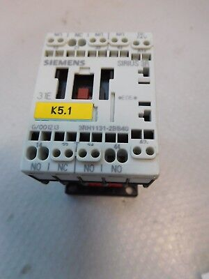 1Pcs New Siemens Contactor Relay 3RH1131-2BB40 24Vdc ca