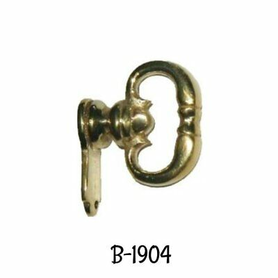 Colonial Revival Style Cast Brass Mock Key Pull Antique Vintage Style Old World