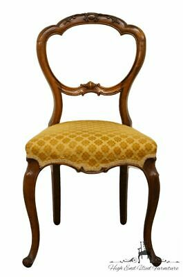 1920's Antique Balloon Back Accent Parlor Dining Side Chair