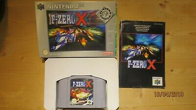F-Zero X for Nintendo 64 N64. Boxed with Manual. Pal