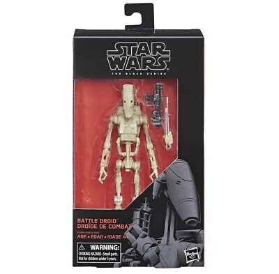 Star Wars The Black Series Battle Droid 6-Inch Figure
