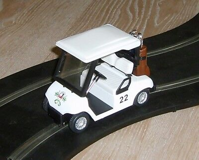 Scalextric conversion Golf buggy cart / car MINT - fun and fast