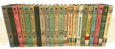 Vintage Lot 22 Landmark Series History Biography Set for Home School