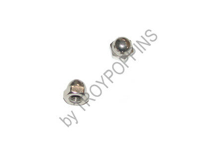 2-Ss 5/16-24 Acorn Hex Cap Nuts Fine Thread Stainless Steel 18-8 Cushman Parts