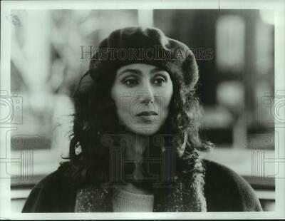 "1990 Press Photo Cher stars as Kathleen Riley a public defender in ""Suspect"""