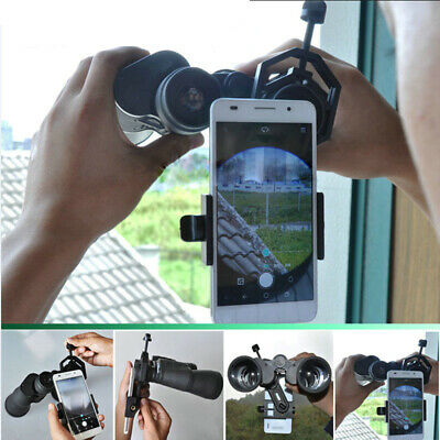 Universal Cell Phone Adapter Mount Compatible Spotting Scope Telescope Binocular
