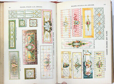 Palmer, Fuller & Co Catalog 1900 – Stained Glass Windows, Doors, Mantles Molding
