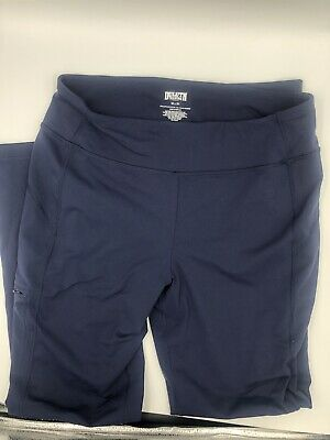1258735a88eec Duluth Trading Co. Womens Work Pants Medium x 31 Blue Stretch NOGA Pockets  Yoga
