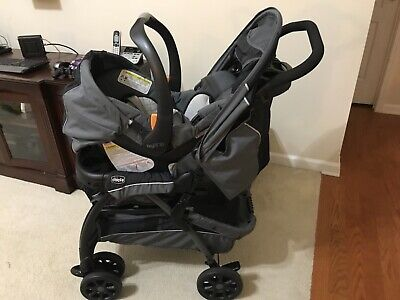 Car Seat Stroller Chicco Cortina Cx Travel System Iron Bought On Amazon For