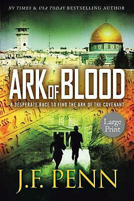 Ark of Blood: Large Print by J.F. Penn Paperback Book Free Shipping!