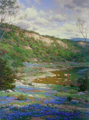 Larry Dyke Texas Spring Artist's Proof