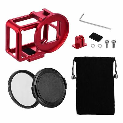 Metal Case Frame For Gopro Hero 7 6 5 Mount Microphone Mic Accessory Protection