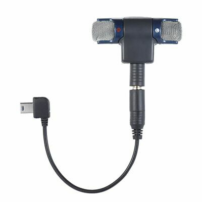 External Mic Microphone Micro USB Adapter For Gopro Hero 3 3+ 4 Sports Camera