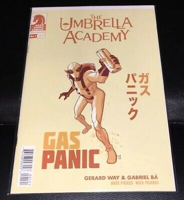 The Umbrella Academy Hotel Oblivion #1 Cover B Variant Dark Horse Comics 2018 NM