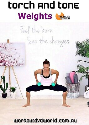 Strength Training DVD - Barlates Body Blitz TORCH AND TONE Weights Workout!