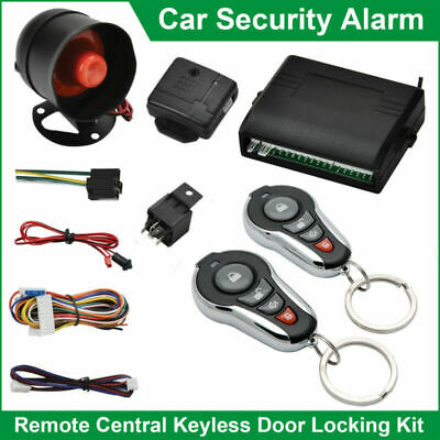 Car Security Alarm System Immobiliser Anti-theft Universal Remote Central Lock