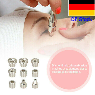 Diamond Microdermabrasion Dermabrasion Accessories Replacement 3 Wands 9 Tips