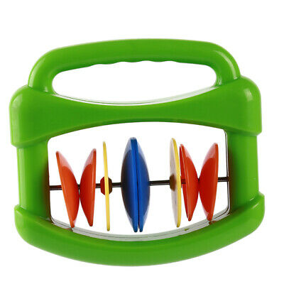Baby Colorful Orff Instrument Hand Shaking Rattle Music Art Developmental Toy CB