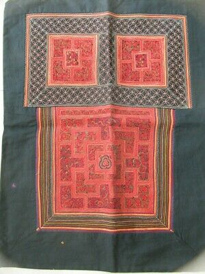 Chinese Miao People's old  Hand Embroidery Baby Carrier