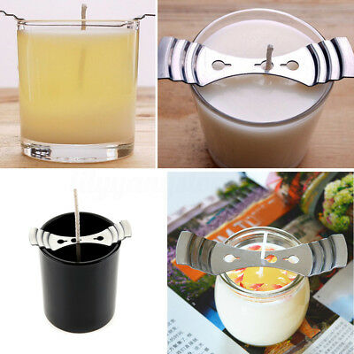 5Pcs Metal Candle Wicks Centering Device Holder Candle Making Supplies