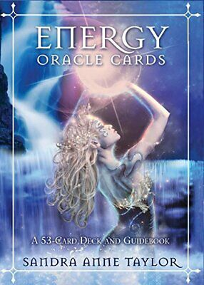 Energy Oracle Cards by Taylor  New 9781401940447 Fast Free Shipping..