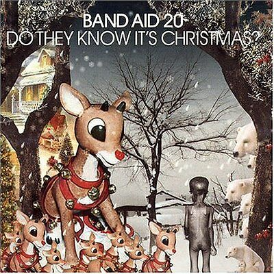 Band Aid 20 - Do They Know It's Christmas? - CD Single (3 track)