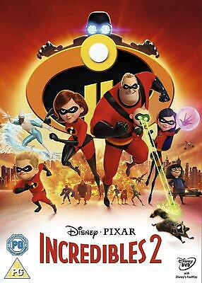 Incredibles 2 DVD. Free delivery.