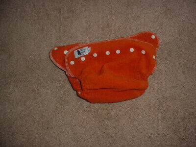The Calico Baby Diaper Cover Size Large  Cloth Diaper Euc