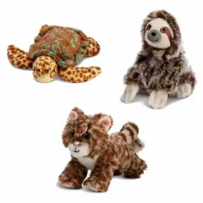 American Girl Lea 3 Animals Margay CAT Sea TURTLE & Three Toed SLOTH *NEW