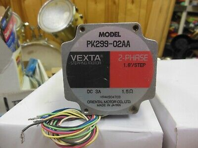 Vexta stepping motor PK299-02AA  2 phase 1.8 step
