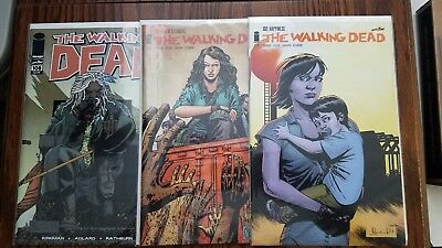THE WALKING DEAD 108 127 132 138 154 171 Key Hot 1st Alpha Beta whisperers Magma