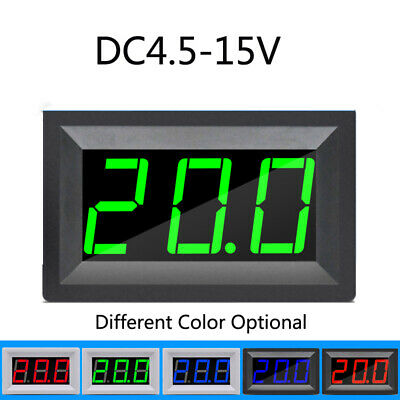 DC4.5 - 15V Digital Thermometer LED Digital Display Temperature Sensor -50- 110C