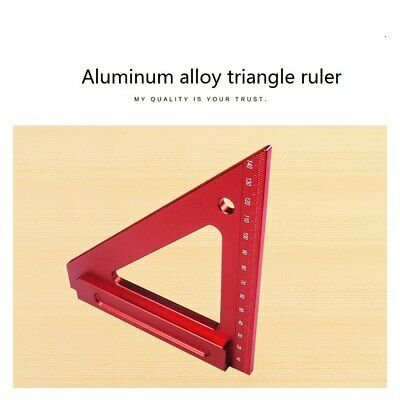 Carpenter Measuring Tri-square Ruler Triangular Rafter Angle Frame Tool
