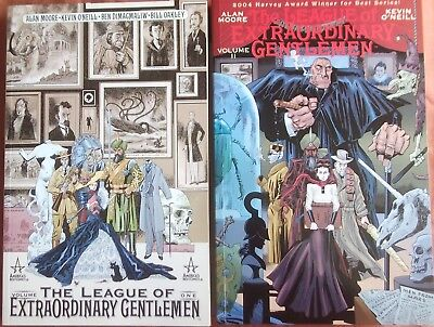 Alan Moore Kevin O Neill THE LEAGUE OF EXTRAORDINARY GENTLEMEN Volumes 1 & 2