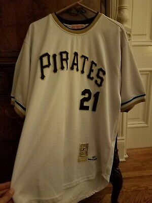 competitive price 4b512 4a675 MITCHELL & NESS Roberto Clemente Pittsburgh Pirates Road ...