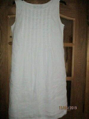 350e8618d9 Betty Barclay White Cotton dress size 16 immaculate condition.