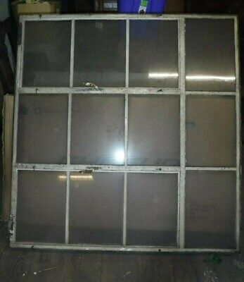 Architectural Steel Window Residential Industrial Factory Transom 12 Lite