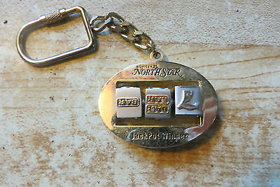 Mohican North Star Casino,Jackpot Winner award gold toned keychain advertising