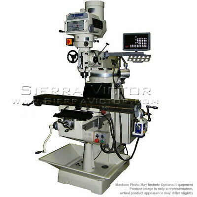 US INDUSTRIAL Manual Variable Speed Milling Machine Package 2VH-3-KIT