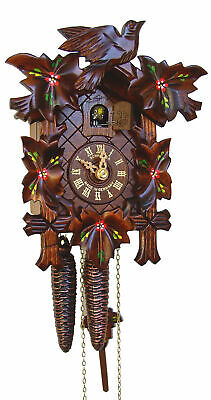 Black Forest Cuckoo clock 5 Leaves. Worth £200-£300. So grab a bargain!