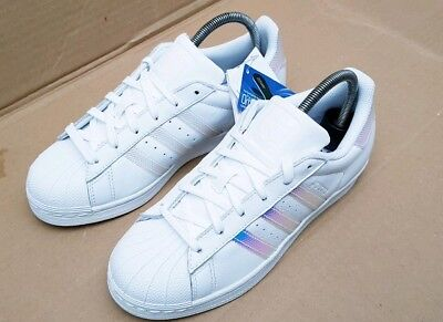 a99d9bb502ba Bnib Adidas Superstar Holographic Trainers Size 5 Uk Dubai Blues Latest  Version