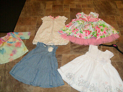 Baby girl summer holiday clothes 12-18 months small bundle